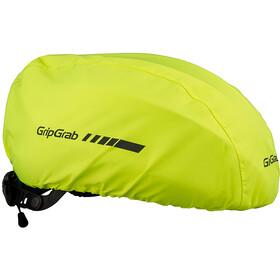 GripGrab Helmet Cover Hi-Vis Helmet Cover fluo yellow